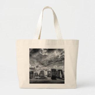 Stonehenge Large Tote Bag