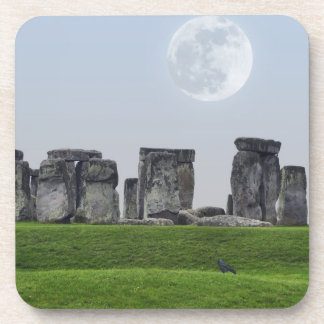 Stonehenge & Moon Ancient Historic Site of Power Coasters