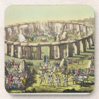 Stonehenge, or a Circular Temple of the Druids, pl Coasters