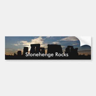Stonehenge Rocks Bumper sticker