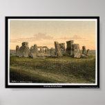 Stonehenge, Salisbury, England Print