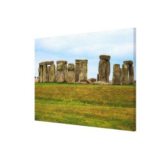 Stonehenge Scenic, England Canvas Print