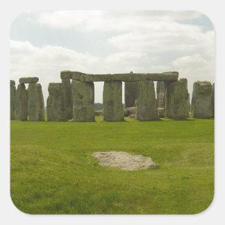 Stonehenge Square Sticker