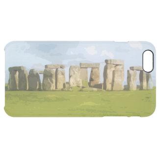 Stonehenge Stone Circle Monument Clear iPhone 6 Plus Case
