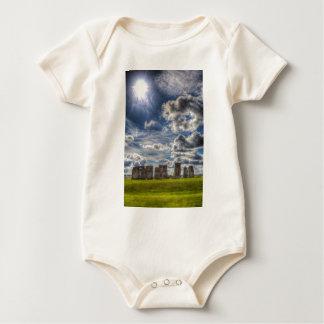 Stonehenge Summer Baby Bodysuit