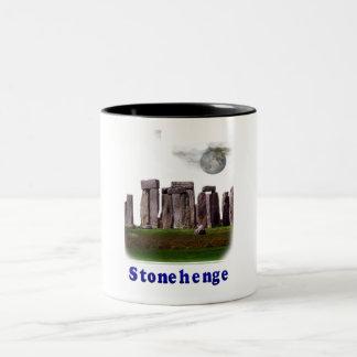 Stonehenge Two-Tone Coffee Mug