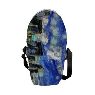 Stonehenge Vincent Van Gogh Courier Bag