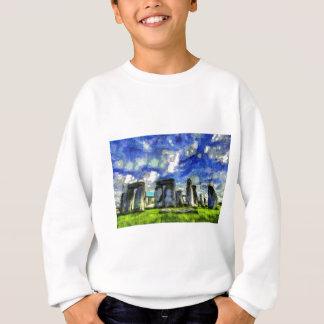 Stonehenge Vincent Van Gogh Sweatshirt