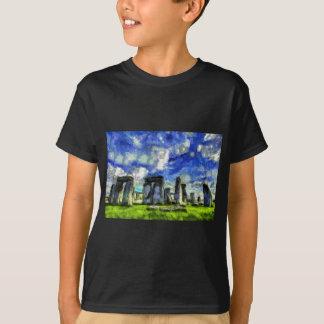 Stonehenge Vincent Van Gogh T-Shirt