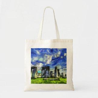 Stonehenge Vincent Van Gogh Tote Bag