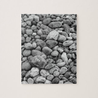 Stones at the Baltic Sea grey Jigsaw Puzzle