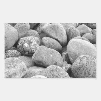 Stones at the Baltic Sea/island Sticker