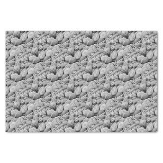 Stones at the Baltic Sea/island Tissue Paper
