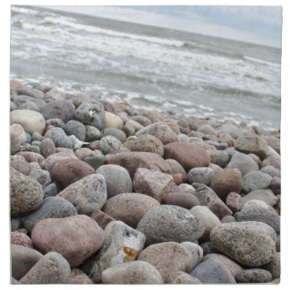 Stones at the beach/Baltic Sea/island reproaches Cloth Napkins