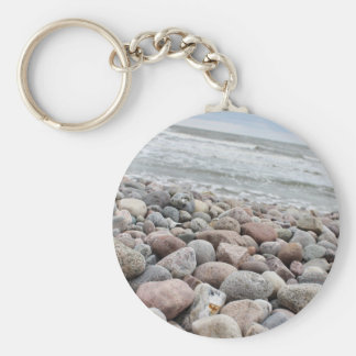 Stones at the beach/Baltic Sea/island reproaches Keychain