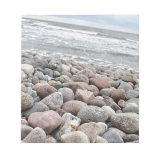 Stones at the beach/Baltic Sea/island reproaches Notepad