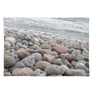 Stones at the beach/Baltic Sea/island reproaches Placemat