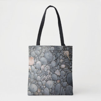 Stones Beach Pebbles Rocks Tote Bag