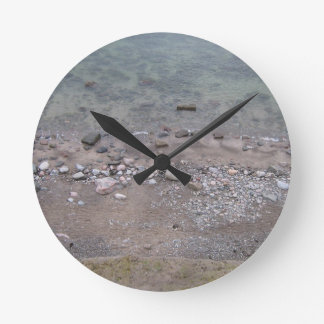 Stones in the Baltic Sea Round Clock