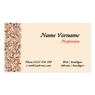 Stones Pack Of Standard Business Cards
