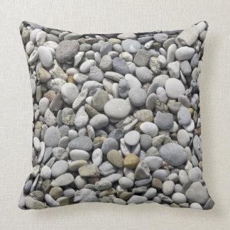 Stones, Rocks Texture Throw Pillow