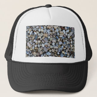 stones rocks texture trucker hat