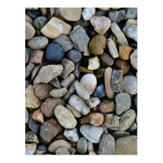 stones texture postcard