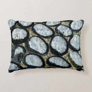 Stones under Water Accent Pillow
