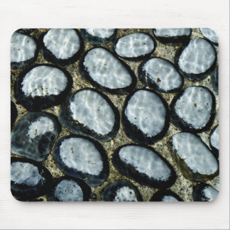 Stones under Water Mouse Pad