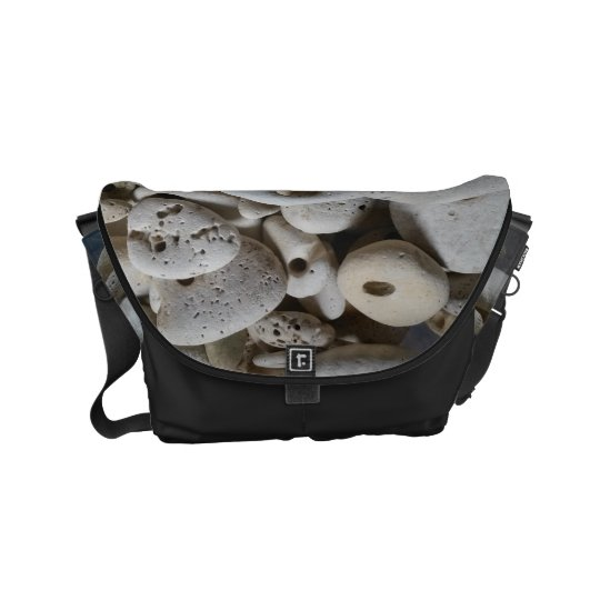 Stones with holes seaside beach shoulder bag commuter bags