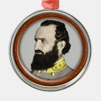 Stonewall Jackson Metal Ornament