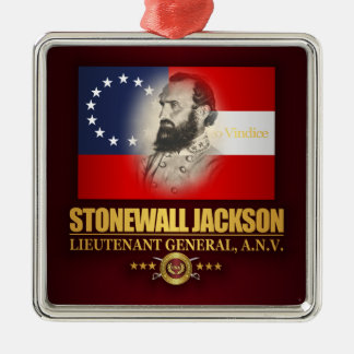 Stonewall Jackson (Southern Patriot) Metal Ornament