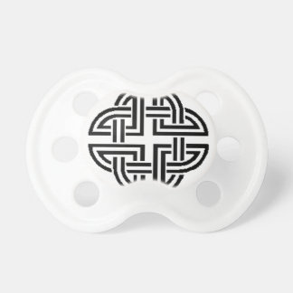 Stonewall Sentinel Celtic Knotwork Logo Baby Pacifier