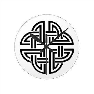 Stonewall Sentinel Celtic Knotwork Logo Wallclock