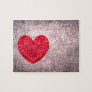 Stonewashed Heart Jigsaw Puzzle