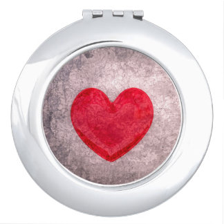 Stonewashed Heart Vanity Mirror
