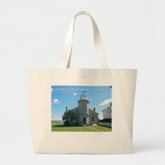 Stonington Harbor Lighthouse, Connecticut Tote Bag