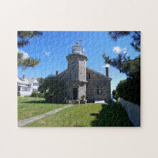 Stonington Harbor Lighthouse, CT Jigsaw Puzzle