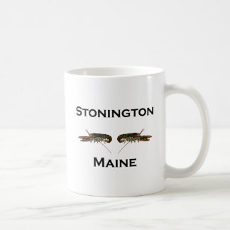 Stonington Maine Lobsters Coffee Mug