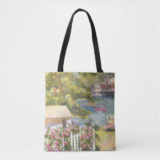 Stonington Maine View Tote Bag