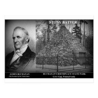 STONY BATTER - Birthplace of Pres. James Buchanan Postcard