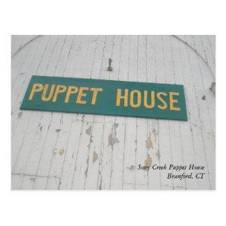 Stony Creek Puppet House Postcard