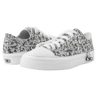 Stony pattern Low-Top sneakers