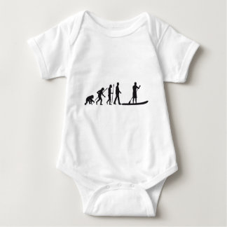 Stood UP Paddling evolution Baby Bodysuit
