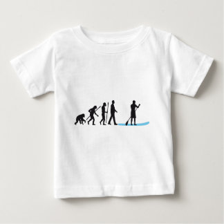Stood UP Paddling evolution Baby T-Shirt