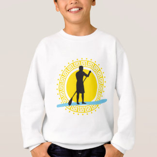 Stood UP paddling one woman Sweatshirt