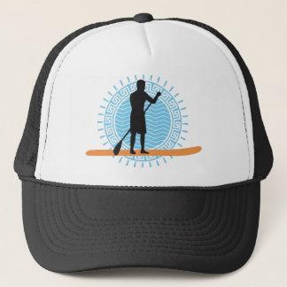 Stood UP paddling one woman Trucker Hat