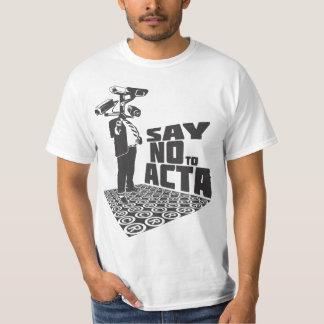 STOP ACTA: Say NO ton of ACTA T-Shirt