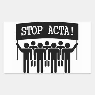 Stop ACTA Sticker