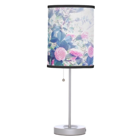 Stop and smell the flowers table lamp